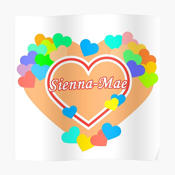 My Heart Sienna-Mae Poster RB1207 product Offical Siennamae Merch