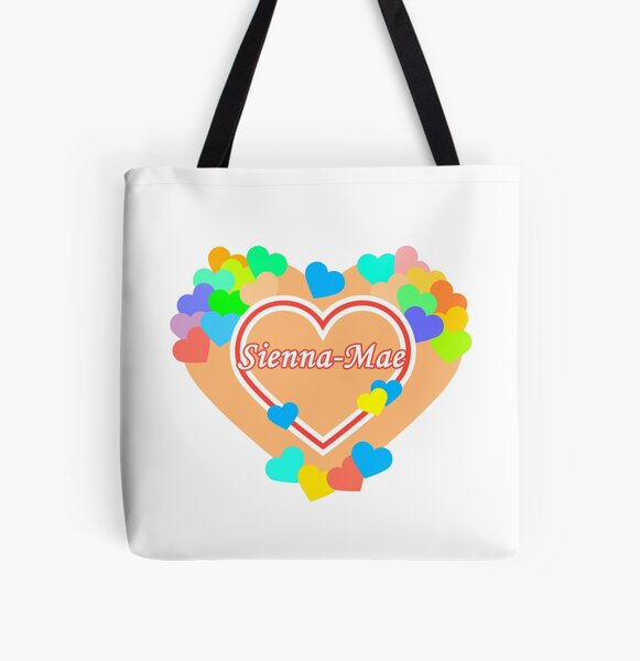 My Heart Sienna-Mae All Over Print Tote Bag RB1207 product Offical Siennamae Merch