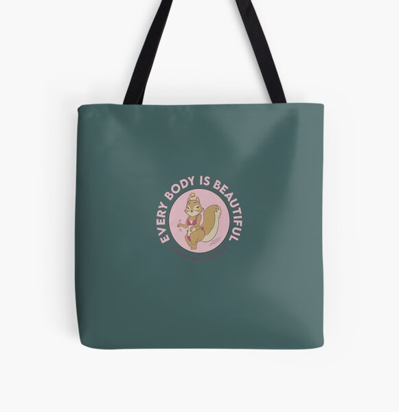 Sienna Mae Gomez Every Body Is Beautiful All Over Print Tote Bag RB1207 product Offical Siennamae Merch