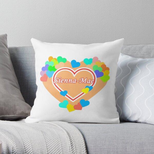 My Heart Sienna-Mae Throw Pillow RB1207 product Offical Siennamae Merch